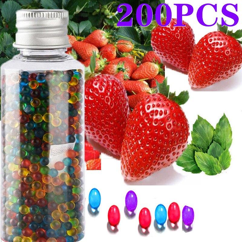200 шт. бусины для сигарет, фрукты, ментол, капсулы, мята, бусины, вкус, взрывобезопасный мяч, держатель, фильтр, аксессуары для курения