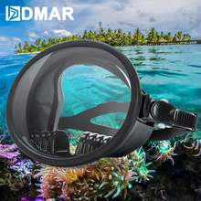 Panoramic Wide-view Scuba Diving Mask Silicone Diving Goggle Anti-Fog Goggles Scuba Diving Goggles Mask Swimming Equipment 2019 new adult scuba diving mask silicone diving goggle underwater salvage scuba diving goggles mask swimming equipment