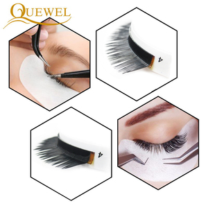 Image 5 - Eyelashes Extension Individual Natural Soft Lash L/L+/LC/LD/DD For Professionals Quewel Eye Lashes Russia volume Silk EyeLash