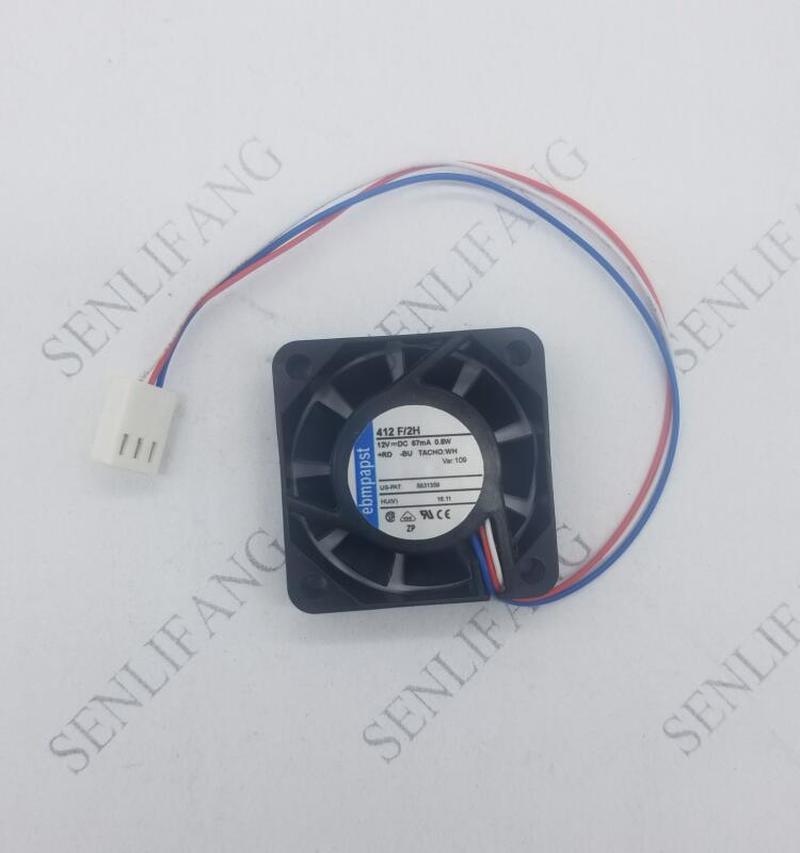 4010 12V 0.8W 412F/2H Server Inverter Cooling Fan 40*40*10mm
