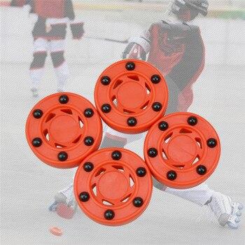 цена на High-density Ice Hockey Durable ABS Roller Hockey Perfectly Balance Ice Inline Street Training Roller Hockey Practice Puck