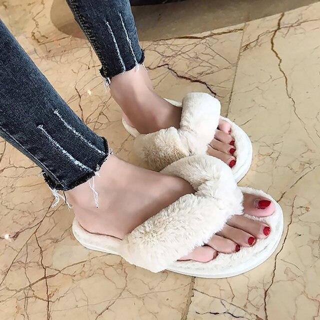 Cozy Fur Slippers 2