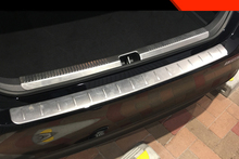 Stainless Steel Accessories Rear Bumper Protector Sill plate cover For Toyota Camry 2018 2019 2020Car Styling stainless steel accessories rear bumper protector sill plate cover for infiniti qx50 2018 2019 car styling