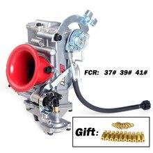 Гоночный карбюратор для Dirt Bike MotorCross Scrambling карбюратор fcr Add power 30