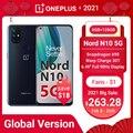 OnePlus Nord N10 5G Smartphone Globale Version 6GB 128GB Snapdragon 690 90Hz Display 64MP Quad Cams warp 30T NFC Handys