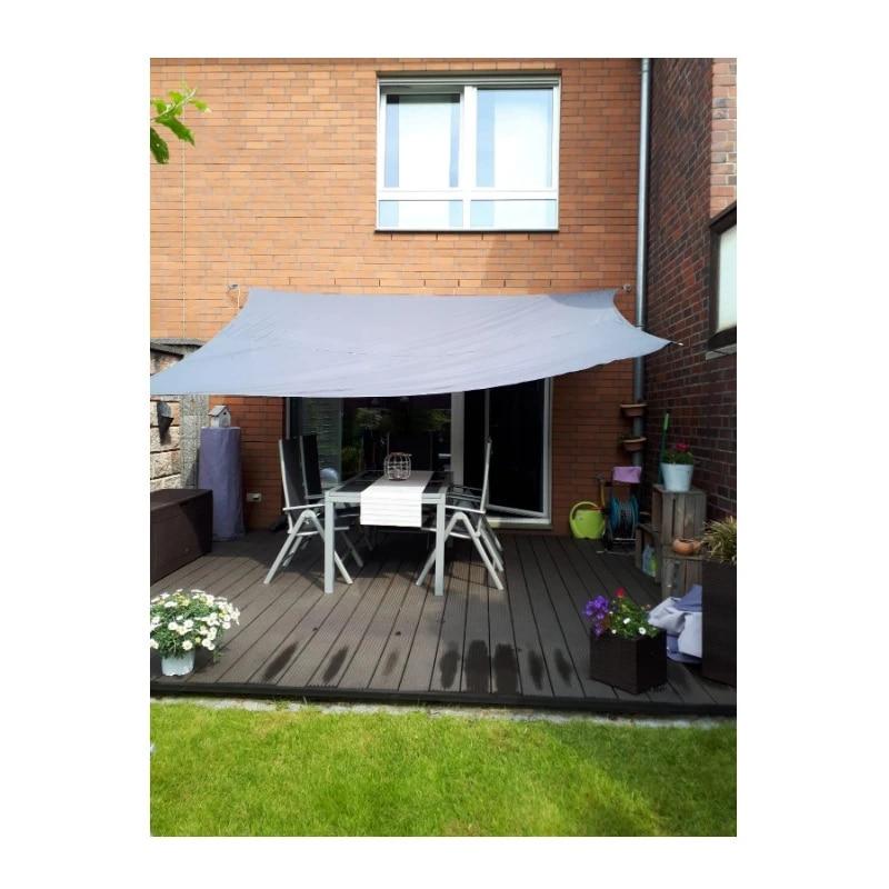 3x5 m canvas patio chairs sunshade sail swing net gazebo greenhouse net canopy outdoor