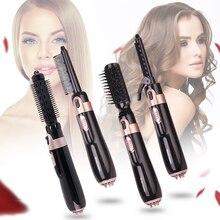 4 in 1 Hair Dryer Brush Electric Hair Straightener
