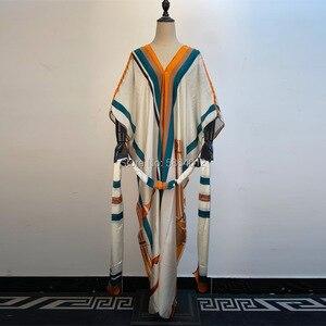 Vestidos para mujeres 2020 diseño de moda vestido suelto Batwing Maxi largo Femme Vestidos verano otoño fiesta elegante vestido