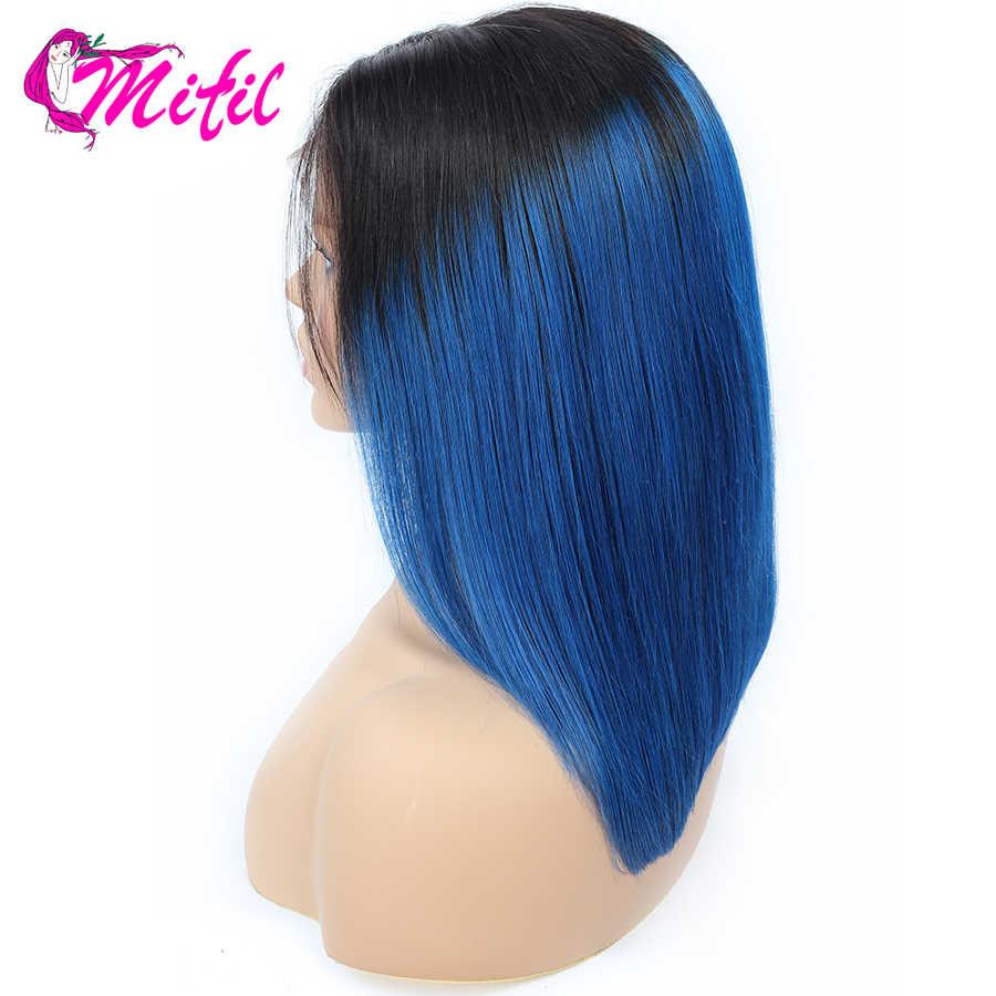 Парики из натуральных волос розового и серого цвета, парик из натуральных волос, парик из малазийских волос, прямые парики T1B/синий/27 99J T1B/613