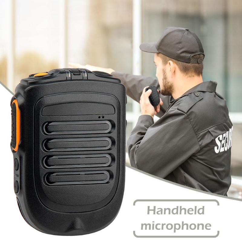 UNIWA BM001 Walkie-talkie Wireless PTT Bluetooth Hand Speaker Microphone Using Ergonomic Design Durable For POC Walkie Talkie