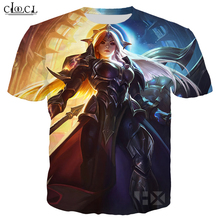 Cloocl Populaire Spel T shirt Mannen/Vrouwen 3D Print T shirts Casual Stijl Hero Skin T shirt Sweatshirt Tops T323