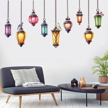 wall stickers home decor living room creative chandelier for kids rooms bedroom dormitory sofa background decoration painting bedroom wall decor deer wall stickers for kids rooms door stickers muraux home living room house decoration accessories