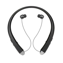 Stylish Wireless Bluetooth 4.1 Headphones Sports Neckband Neckband Headphones Black tronsmart encore s2 bluetooth 4 1 neckband sports headphones