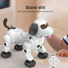 Electronic Animal Pets RC Robot Dog Voice Remote Control Spray Robot Pet Electronic Pet Toy Toys Music Song Toy For Kids RC Toys