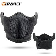 Thermal Fleece Ear-Cover Neck Warmer Running Scarf Cycling Mask Face Bandana Ski Hiking Sport Masks Snowboard Men Women Winter