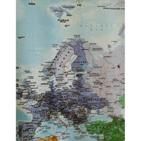Home Decoration 100x70cm Wall Sticker World Map LARGE MAP OF THE WORLD POSTER with Country Flags Wall Chart Room Decoration
