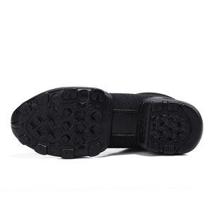 Image 3 - OZERSK 2021 erkekler rahat ayakkabılar marka erkek yaz ayakkabı Sneakers Flats örgü Lace Up loaferlar nefes yürüyüş ayakkabısı Size 39 ~ 44