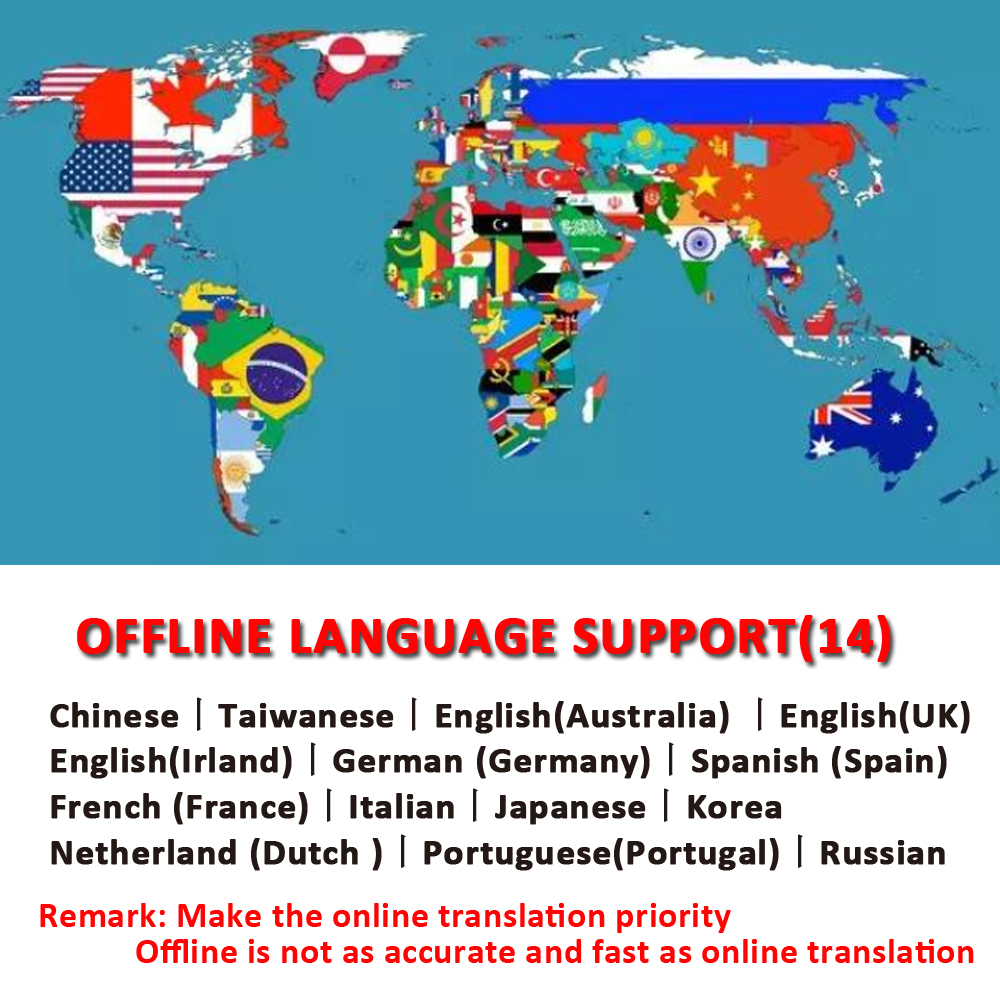 CTVMAN 137 Pocket Language Translator for 137 Online Language and 14 Offline Language with Smart Photo Voice and Text Translation in Real Time 1
