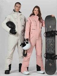 Combinaison de Ski femme veste de Ski une pièce combinaison de Ski femme combinaison de Snowboard combinaison de Sport d'hiver Ski ensemble de Snowboard vêtements de neige