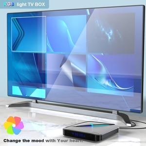 Image 5 - A95X F3 AIR Smart TV Box Android 9.0 rvb lumière 8K décodage UHD 4K 75fps lecteur multimédia 2.4G/5G WiFi Amlogic S905X3 4 GB/64 GB