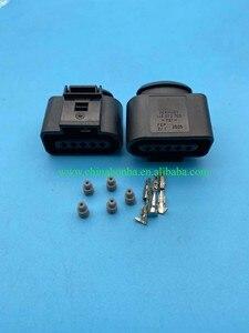 5 шт. 5 pin 1,5 мм водонепроницаемый Женский разъем проводки 1J0973705 авиационные автомобильные электрические разъемы 1J0 973 705