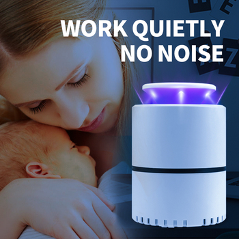 Electric Mosquito Killer Lamp Led Mosquito Killer Light Photocatalyst Mute USB 5V Bug Zapper Insect Trap Anti Mosquito Repellent electronic mosquito killer lamp smart photocatalyst light bug insect mosquito repellent repeller zapper with us plug adapter