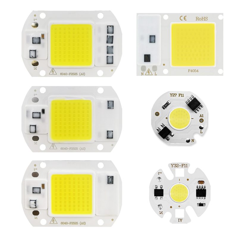 LED Matrix 3W 5W 7W 10W 12W 20W 30W 50W Smart Chip IC Lamp For Indoor Downlight Searchlight Matrix Outdoor Spotlight Floodlight