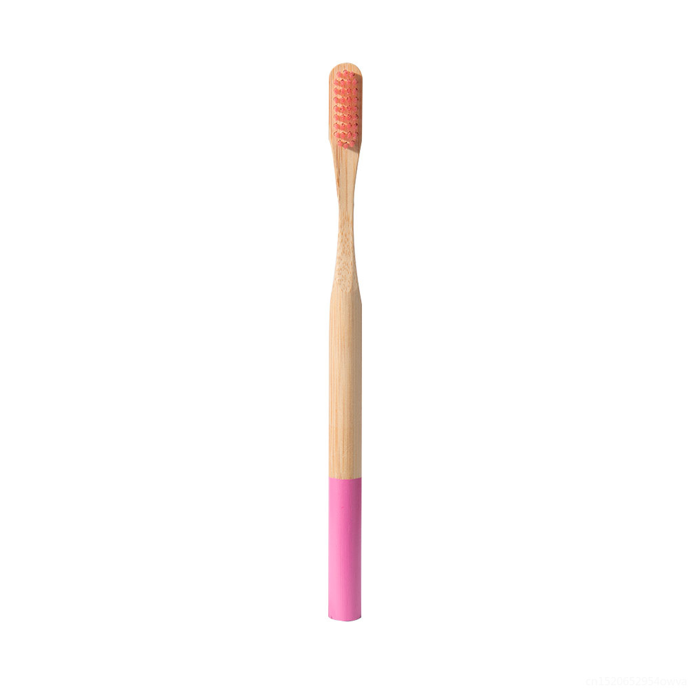 1pc Natural Bamboo Toothbrush For Adult Children Eco Friendly Wooden Tooth Brush With Medium Soft Bristle Brushes For Oral Care