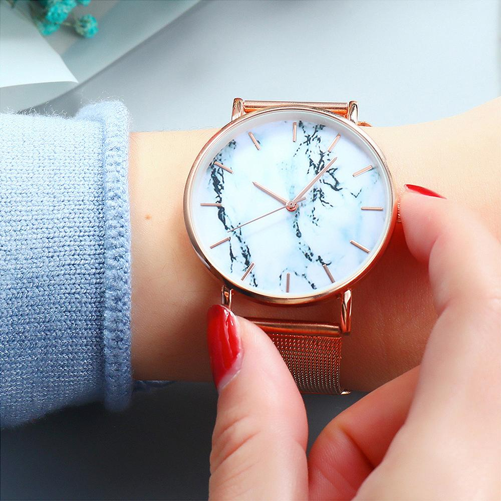 Fashion Women Watches TOP Brand Luxury Starry Sky Luxury Fashion Diamond Ladies Magnet Watches Female Clock Relojes Para Mujer
