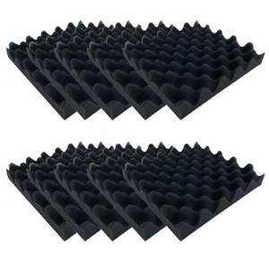 10pcs Soundproofing Foam Egg C