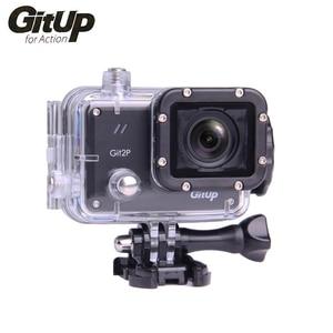 Оригинальная брендовая Экшн-камера GitUP Git2P 2K Wifi Full HD 1080P 30M Водонепроницаемая видеокамера 1,5 дюйма Novatek 96660 Git 2P PRO камера