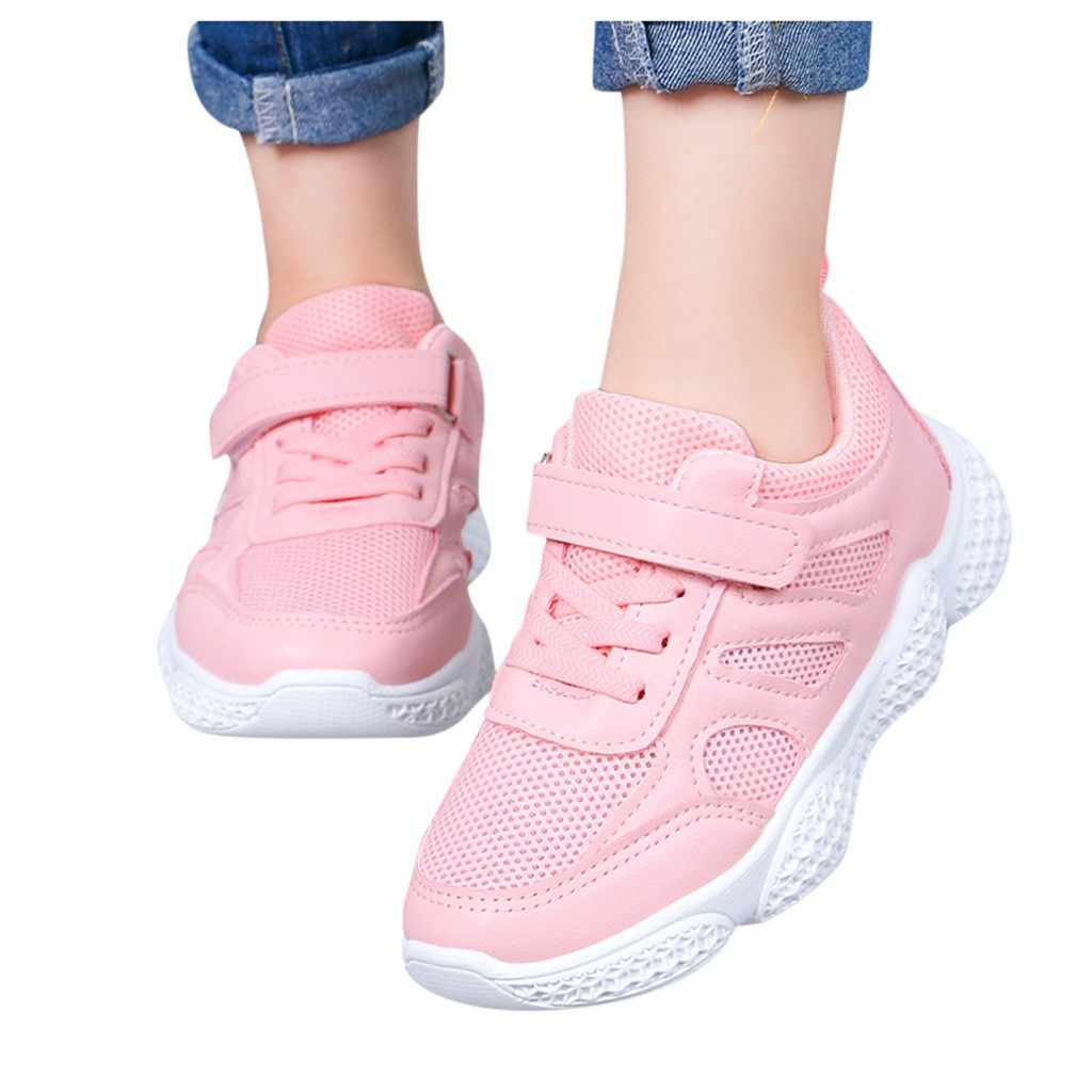 Children Kids Shoes Baby Girls Boys Patchwork Mesh Solf Sport Sneakers Casual Girl Shoes For Kids Kids Sneakers Tenis Infantil