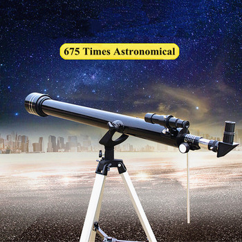 Astronomical Telescope Professional Night Vision Monocular Powerful for Space 675 Times Zoom Children