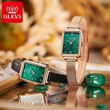 Olevs Top Merk Vrouwen Mode Quartz Horloge Top Merk Waterdichte Luxe Vrouwen Horloges Roestvrij Stalen Band Datum Klok Lady
