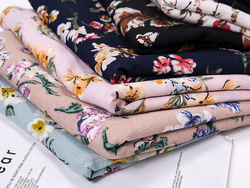 total 50 pieces chiffon printed