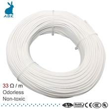 HRAG 12K 33ohm Высококачественный нагревательный кабель из углеродного волокна провод для обогрева пола электрическая Горячая линия нетоксичный без запаха теплый нагревательный кабель