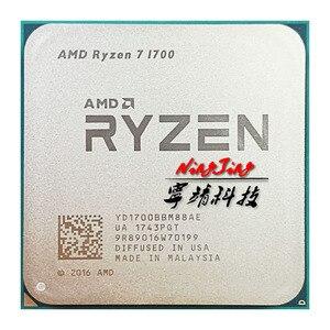 Image 1 - Процессор AMD Ryzen 7 1700 R7 1700 3,0 ГГц, Восьмиядерный процессор с 16 потоками, 65 Вт, YD1700BBM88AE Socket AM4
