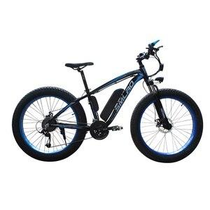 Image 4 - XDC600 SMLRO Neueste Modell elektrische fahrrad 26*4,0 Inch 48V 350W Snowbike E Bike