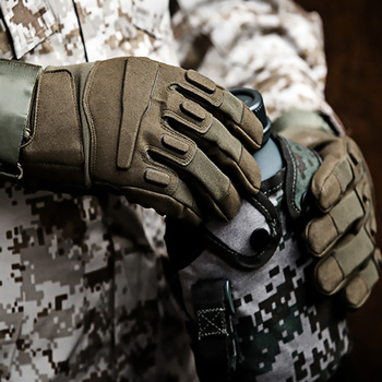 Military Outdoor Adventure Mountaineering Anti-Slip Sun Protection All-Finger Sports Riding Tactical Gloves 3