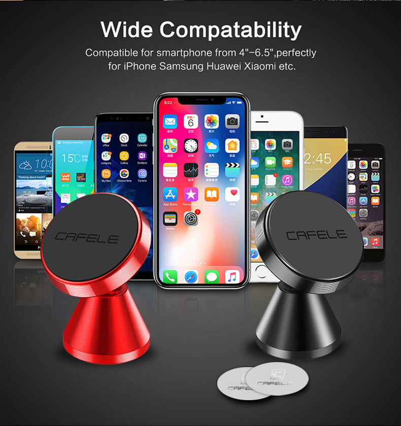 magetic car phone holder for xiaomi samsung huawei iphone  (6)