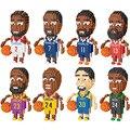 Mini Bausteine Ziegel Spielzeug Cartoon Basketball Charakter Modell Pädagogische Blöcke Spielzeug für Kinder