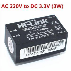 HLK-PM01 HLK-PM03 HLK-PM12 мини блок питания Интеллектуальный бытовой выключатель модуль питания AC-DC 220В до 5В/3, 3 В/12В