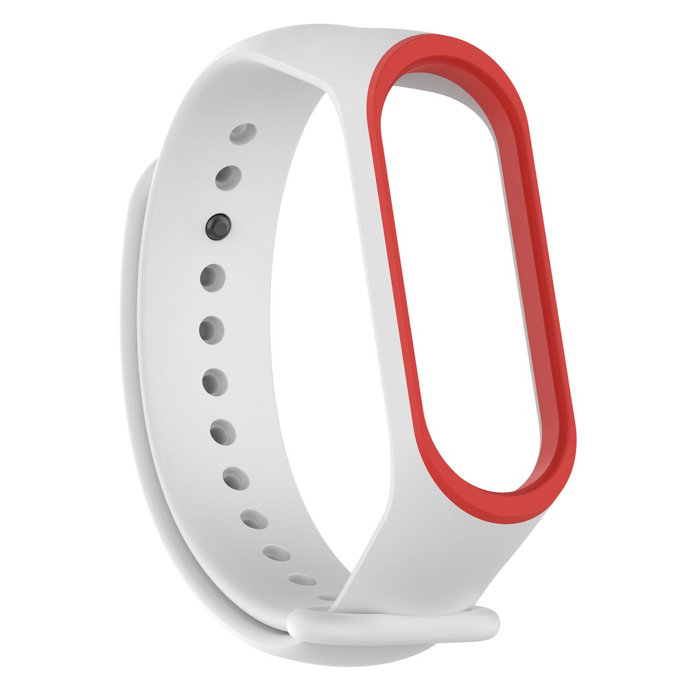 Colorful Wrist For Mi Rubber For Band 4 Wristband Smart Sports Bracelet Wristband Strap Smart Ring Accessories