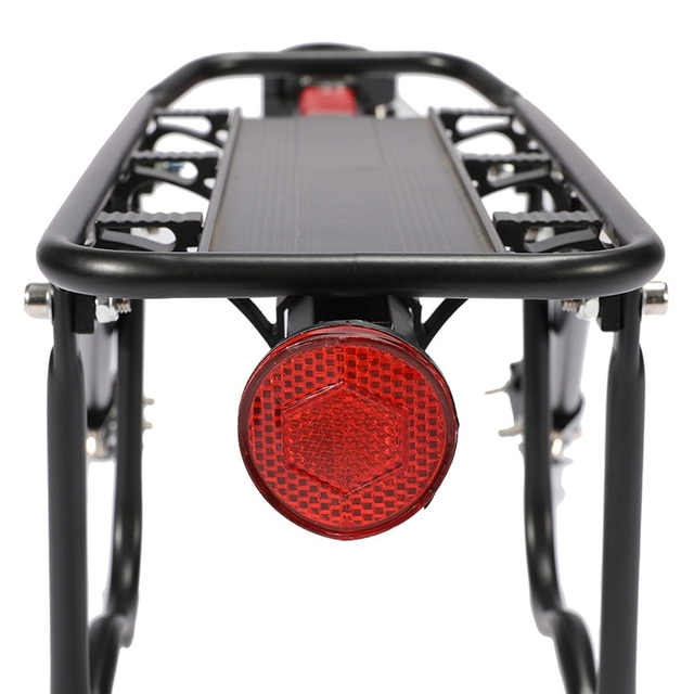 Rack de bicicleta Quadro de Liga de Alumínio de Bagagem Traseiro Transportadora Rack Traseiro Tronco para Bicicletas MTB Bicicleta Prateleira Traseira com Chave de Montagem