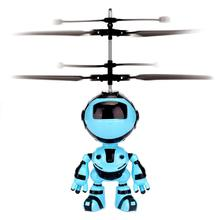 Electronic Aircraft Suspension Hand Sensing Obstacle Flying Robot Kids Toy Gift