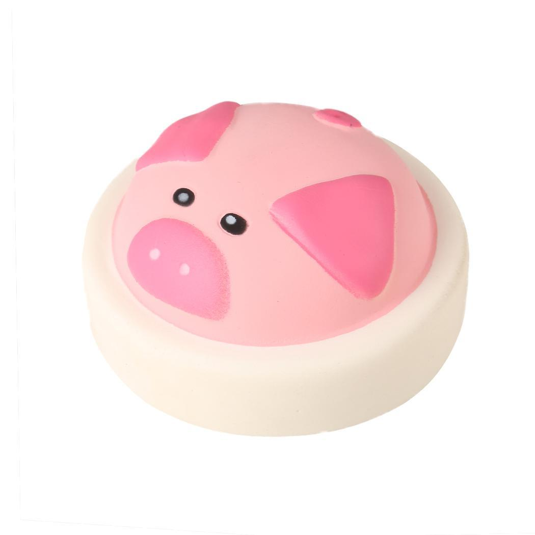 New Kids Children Soft Jumbo Squishy Over 6 Years Old Simulation Cartoon Pig Base Scented Slow Rising Toys