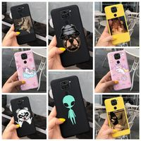 Mode Cartoon Einhorn Fall Für Xiaomi Redmi Hinweis 9 8 Pro 9s 8T Abdeckung Coque Fundas auf Redmi 8 9 9A 9C TPU Matte Weiche Telefon Fall
