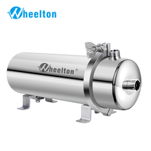 Wheelton 304 נירוסטה מים מסנן PVDF Ultrafiltration מטהר, 1000L, מסחרי בית מטבח לשתות ישר UF מסננים