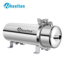 Wheelton 304 ze stali nierdzewnej filtr ultrafiltracji PVDF oczyszczania wody, 1000L, handlowych domu kuchnia pić prosto UF filtry