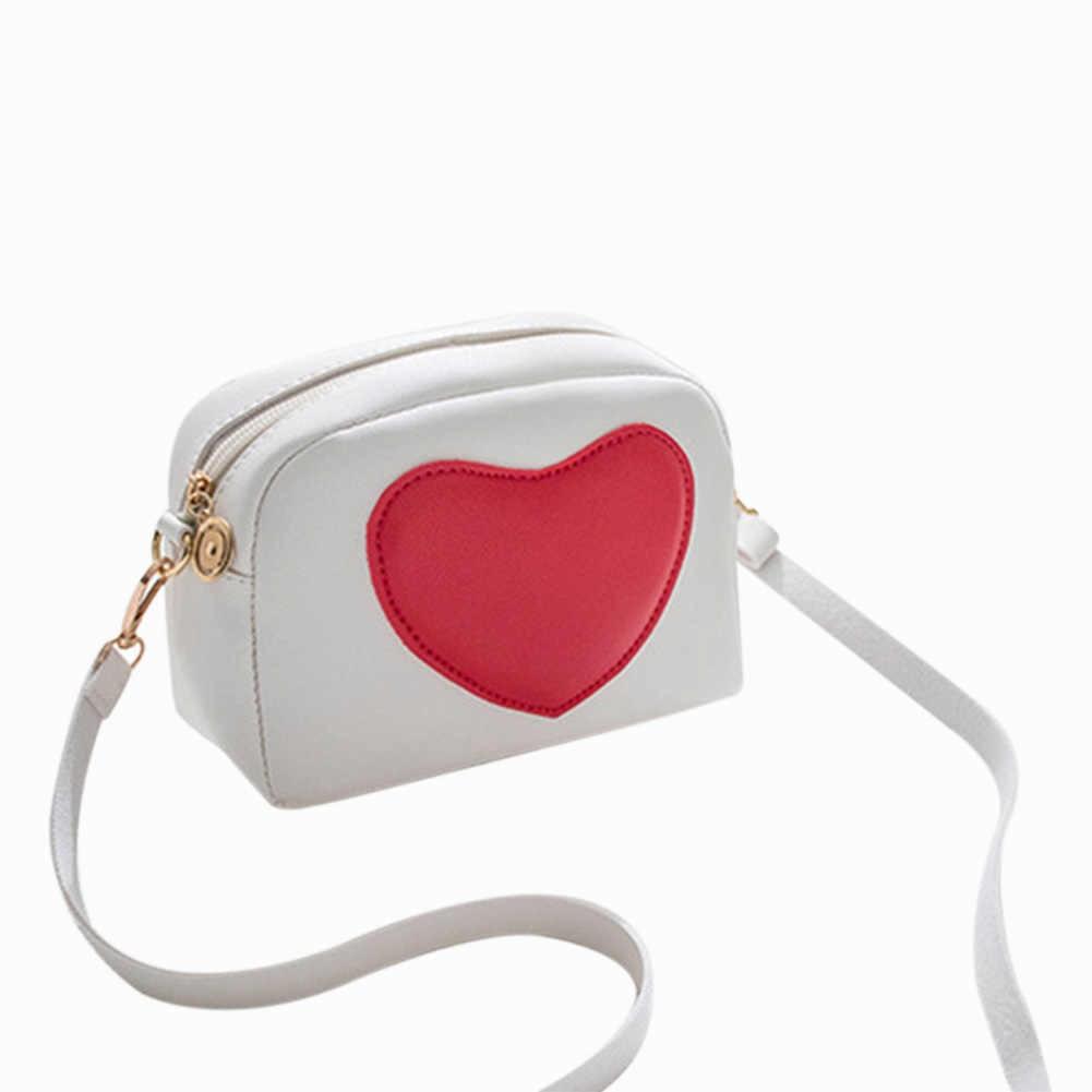 2020 jesienno-zimowa damska moda miłość torba na ramię dziewczyny urocza torebka Crossbody torba na co dzień torba pokrowiec na telefon komórkowy